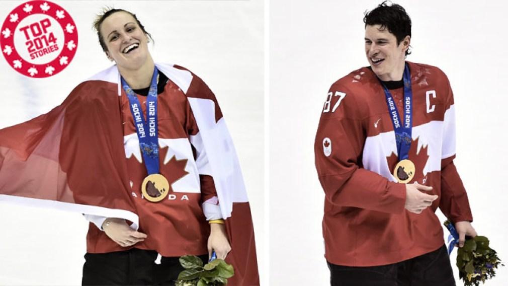 Top 2014: Canada's hockey heroes