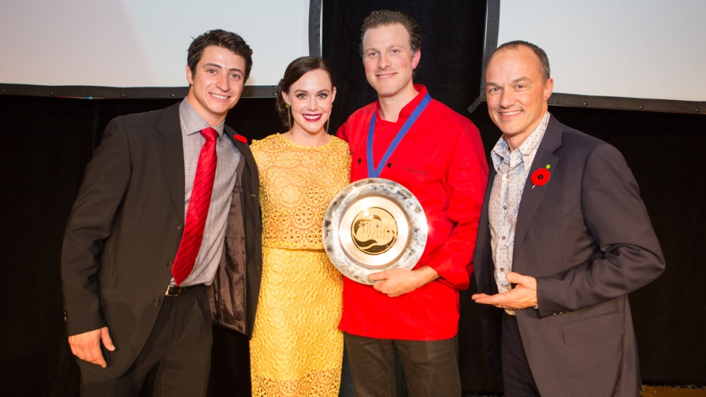 Olympians show support across Canada for Gold Medal Plates