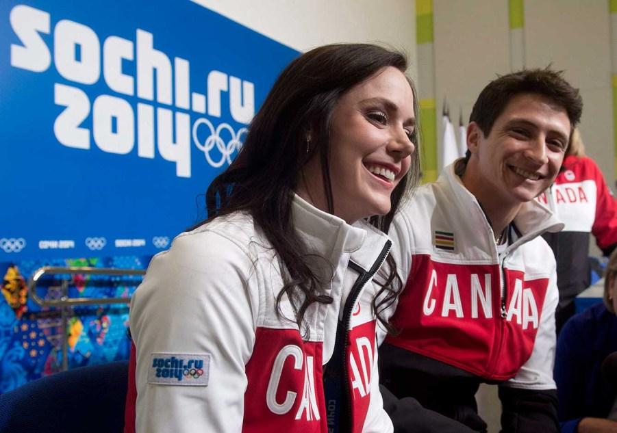 Tessa Virtue and Scott Moir (Sochi)