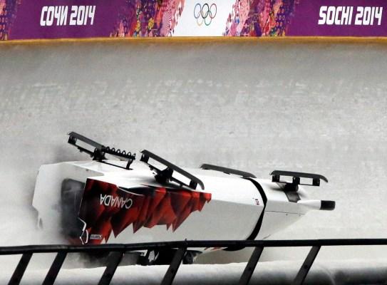 Team Canada bobsleigh (Sochi)