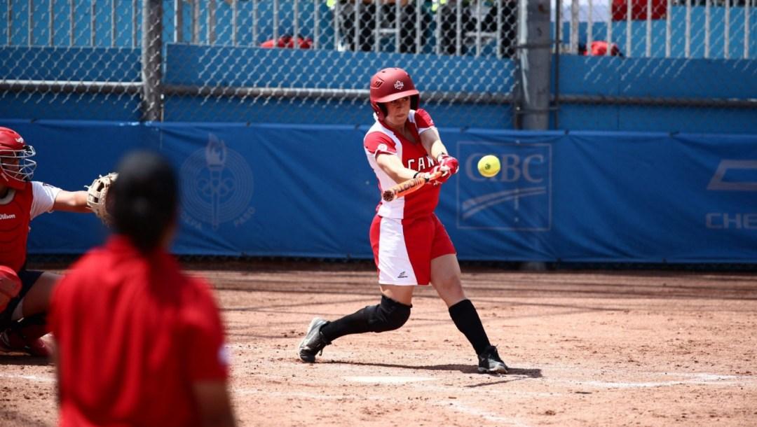 Erika Polidori Toronto Pan Am Games 2015 softball