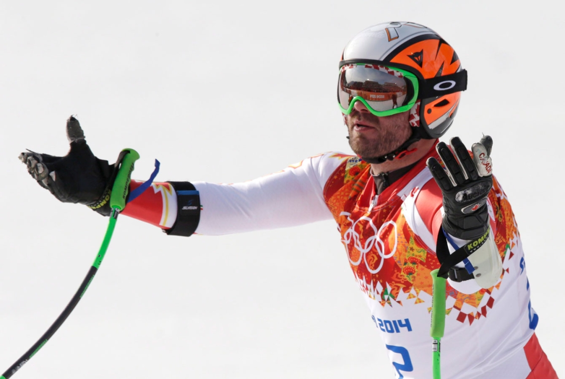 Jan Hudec upon learning he may have ended Canada's 20-year Olympic alpine medal drought.