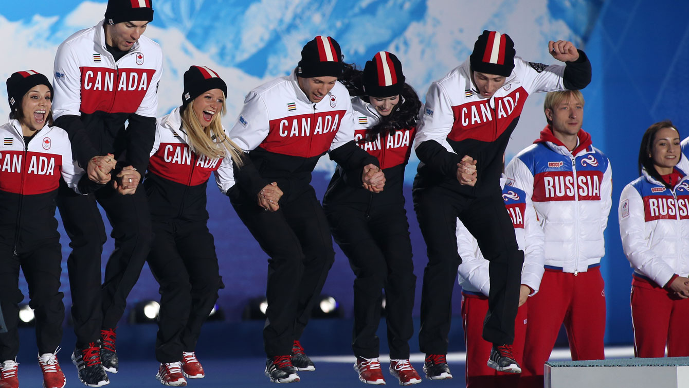 Sochi Replay - team figure skating