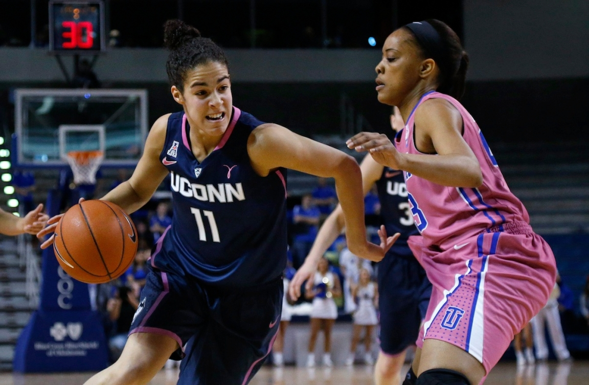 Kia Nurse is looking to help Connecticut to a second straight national title. (Photo: CP)