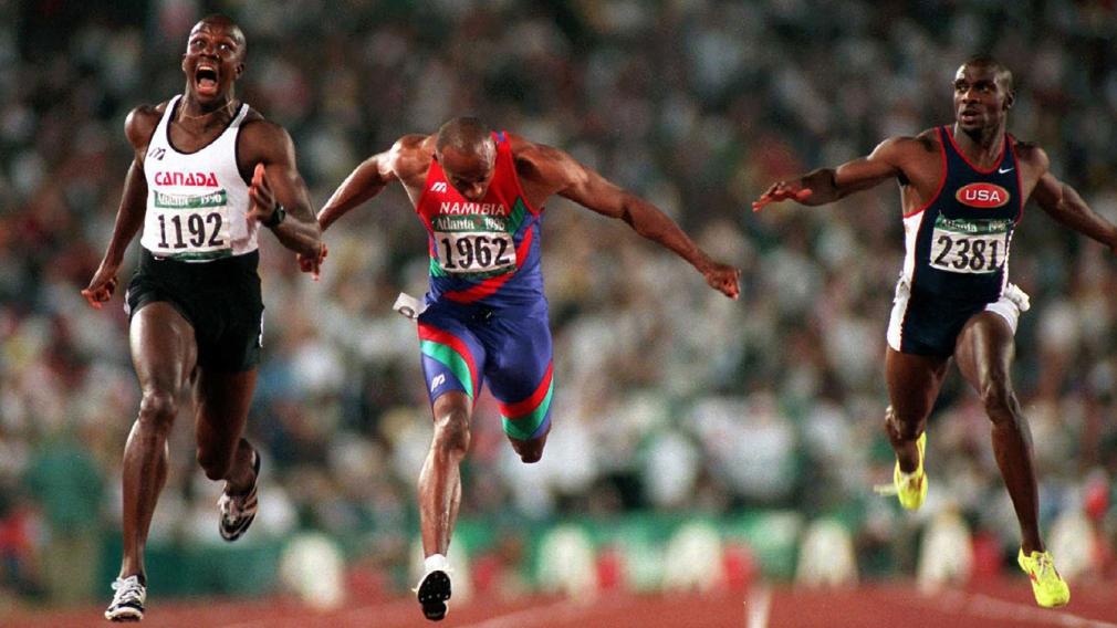 How an Olympic sprinter can run faster than 40 km/h