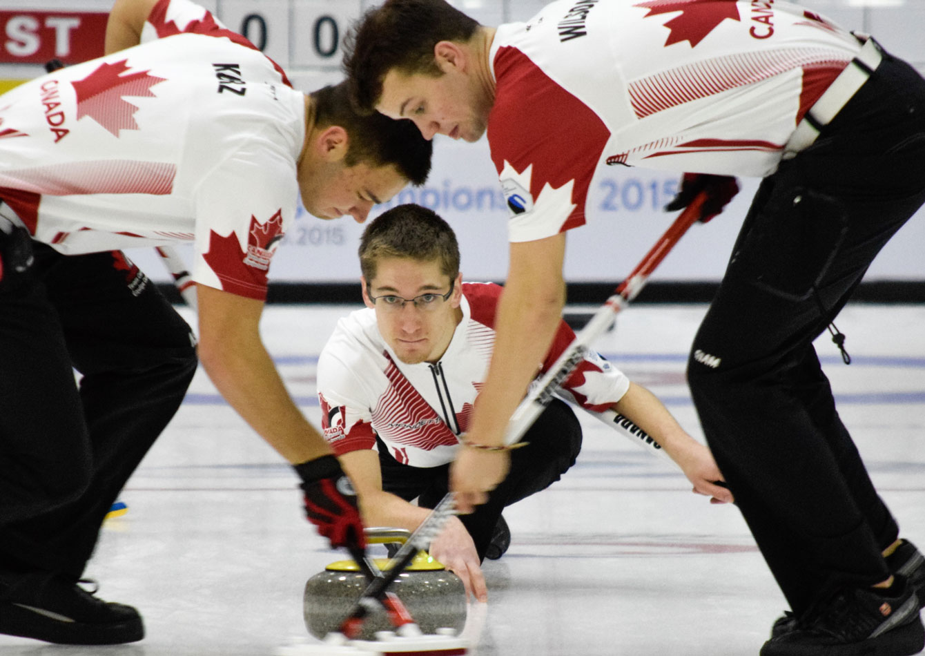 Team Canada men off to a 4-1 start through Tuesday at World Junior Curling Championship.