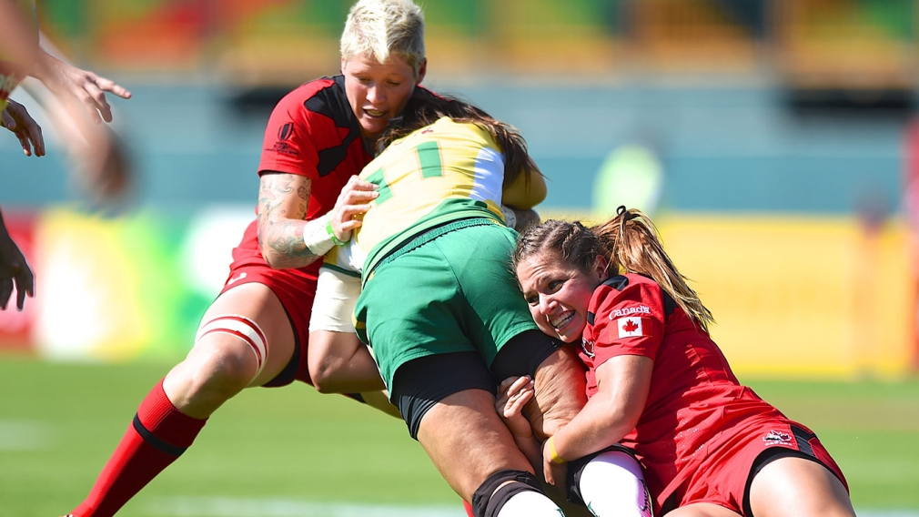 Women's rugby on track as Olympic qualifying series approaches halfway