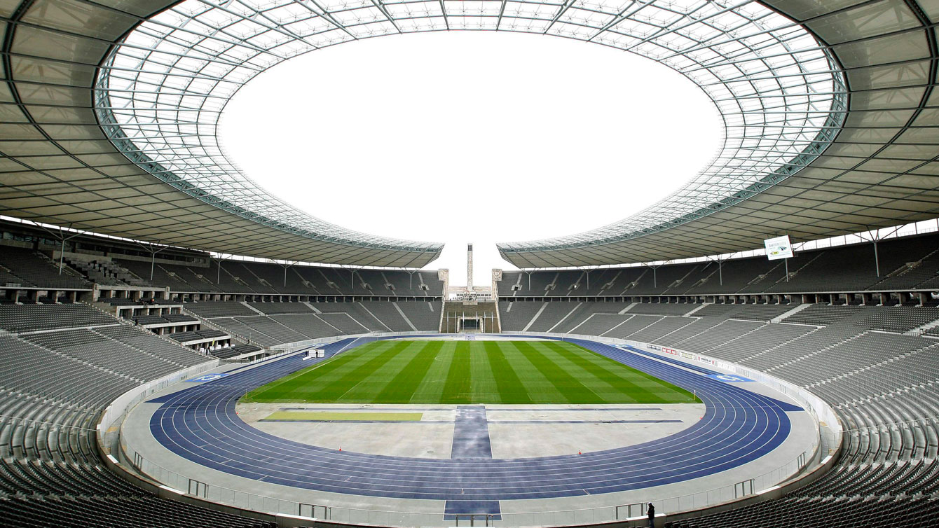 Berlin Olympiastadion, home of the 2009 IAAF World Track and Field Championships.