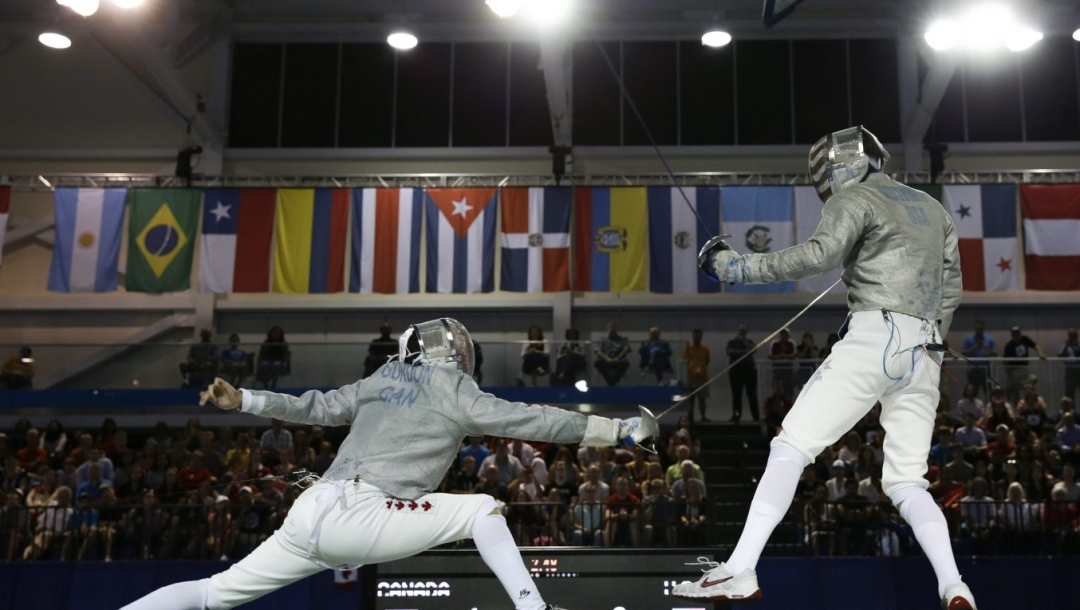 Canada Pan Am Games Fencing