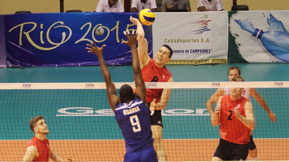 Canada-Cuba split as World League continues in Havana