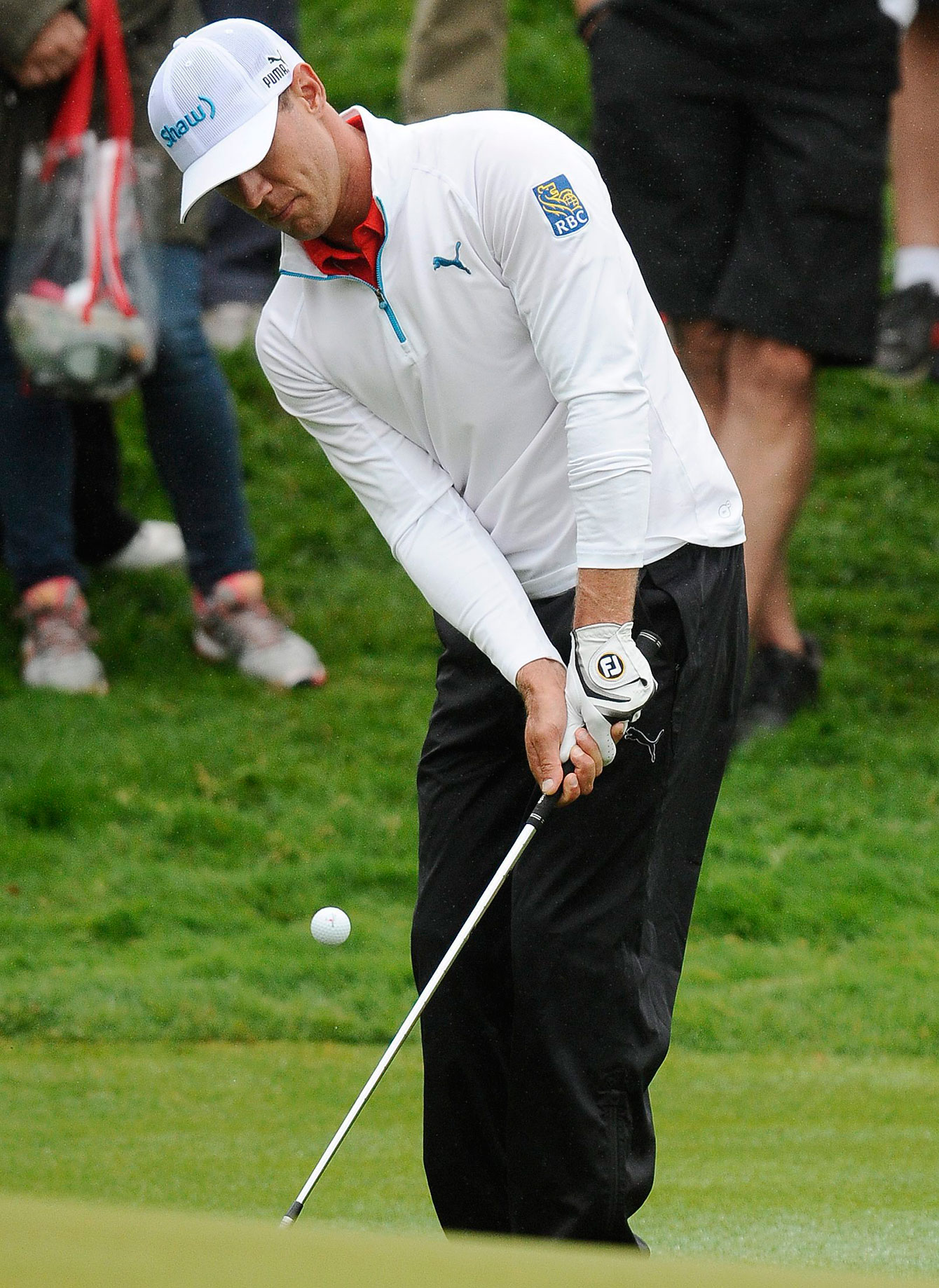 Graham DeLaet at the Travelers Championship in Connecticut on June 28, 2015.