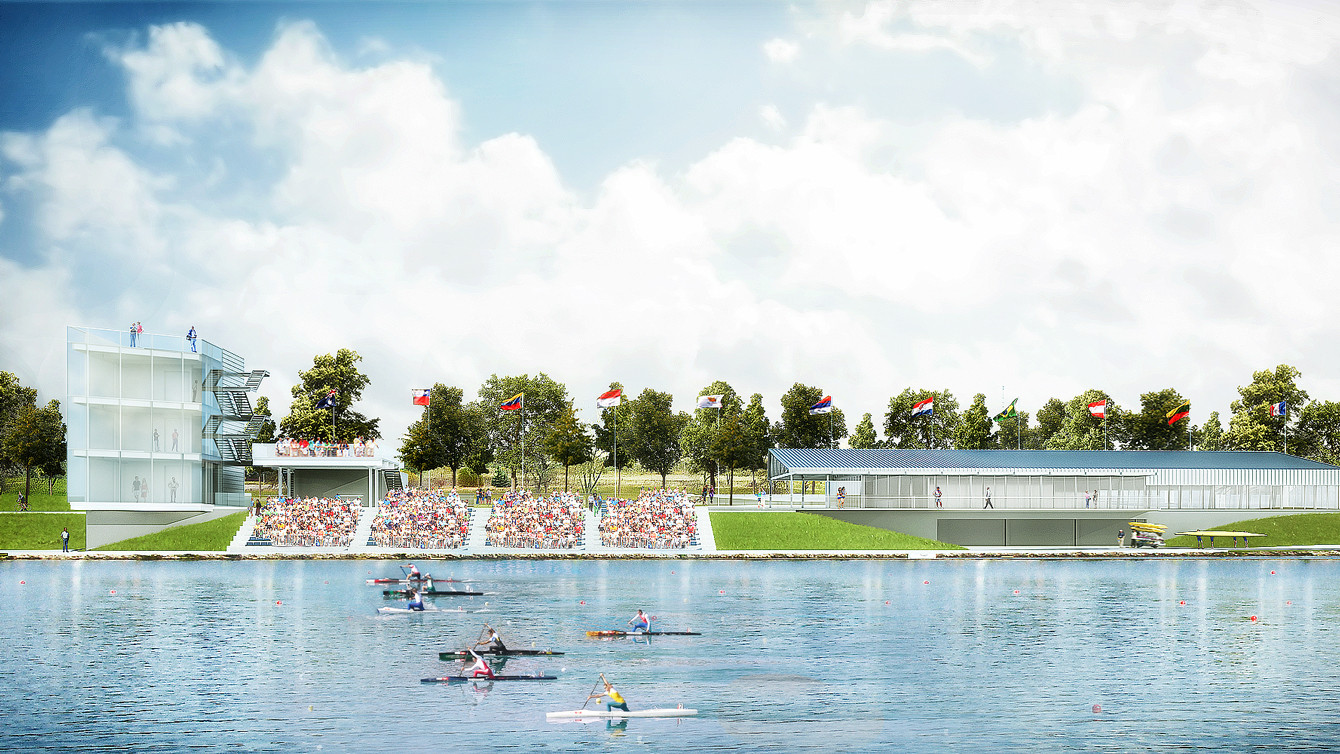 Welland Pan Am Flatwater Centre (Photo: Canal Corp)