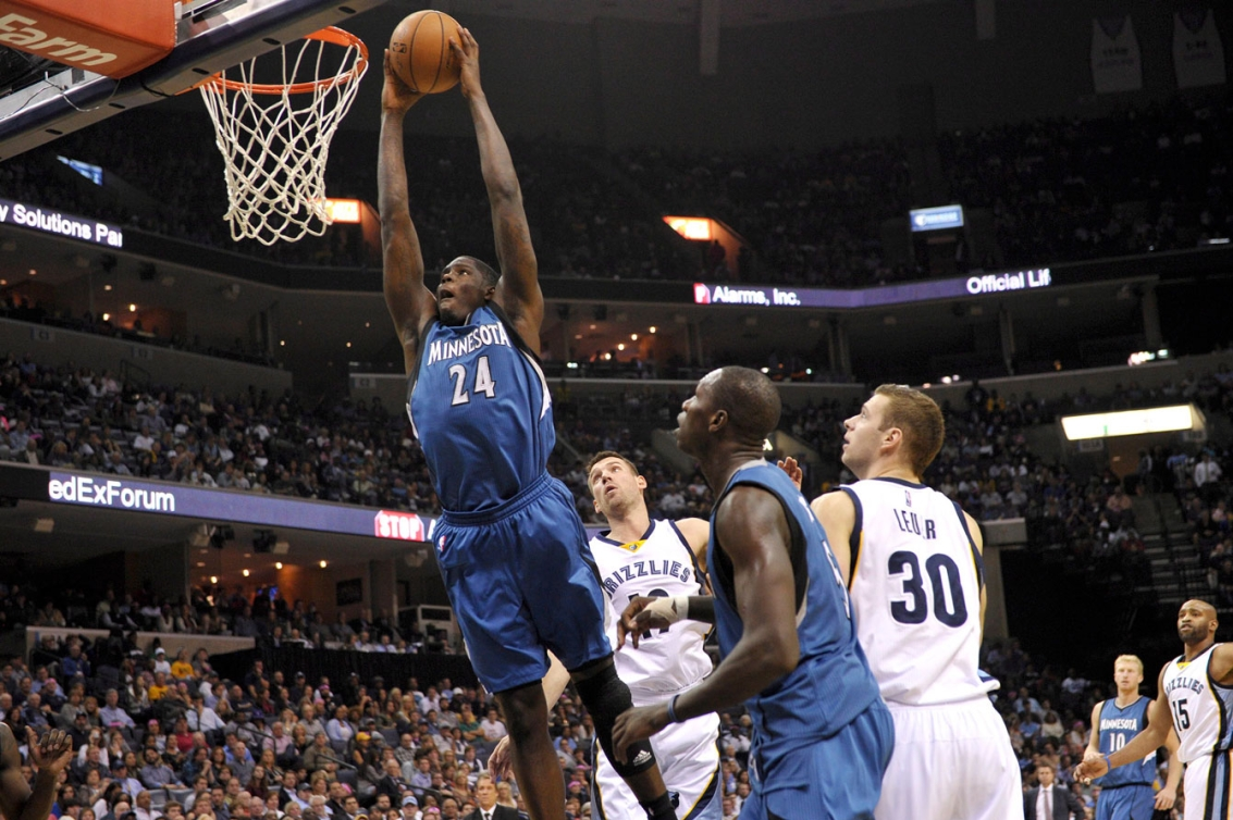 Anthony Bennett was traded to Minnesota last offseason along with Canadian Andrew Wiggins.