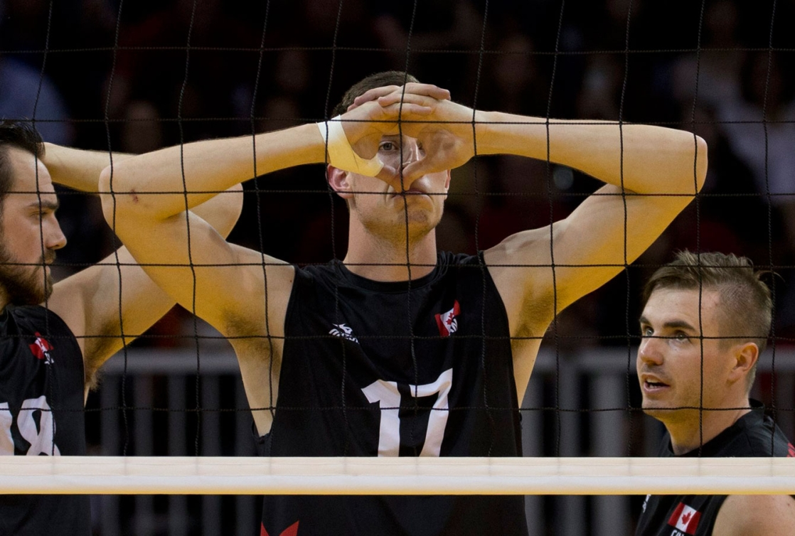 Despite keeping it close in each set, the Canadians were unable to overpower Argentina on Day 14 at TO2015.
