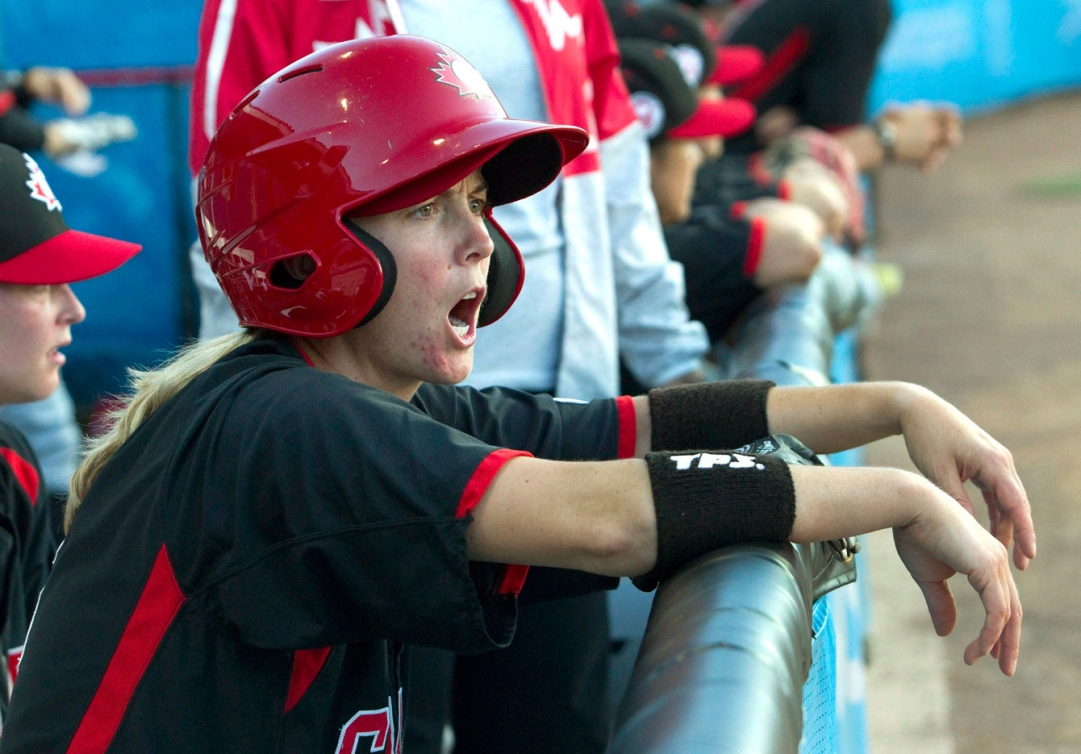 The Canadian women's baseball team lost 3-1 to the USA in their TO2015 semifinal.