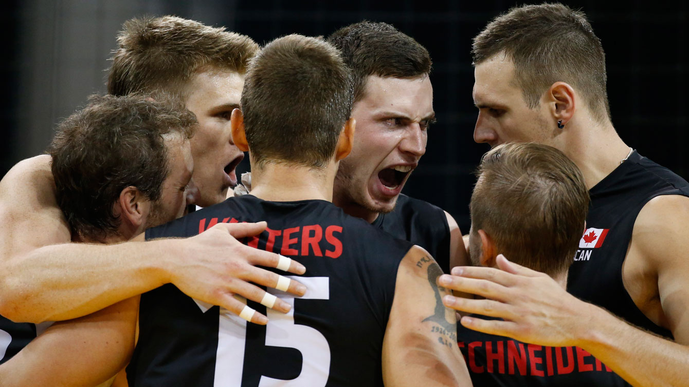 The men's volleyball team lost their semifinal matchup against Argentina 3-1.