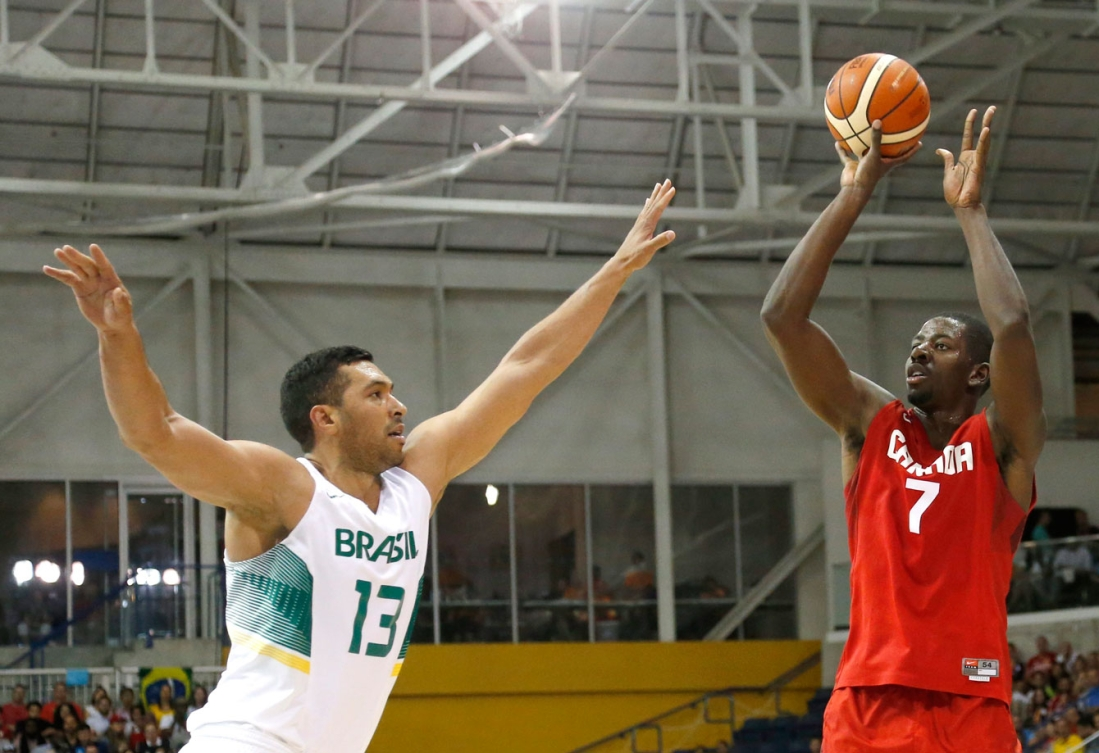 Andrew Nicholson was unable to power Canada's men to TO2015 basketball gold.