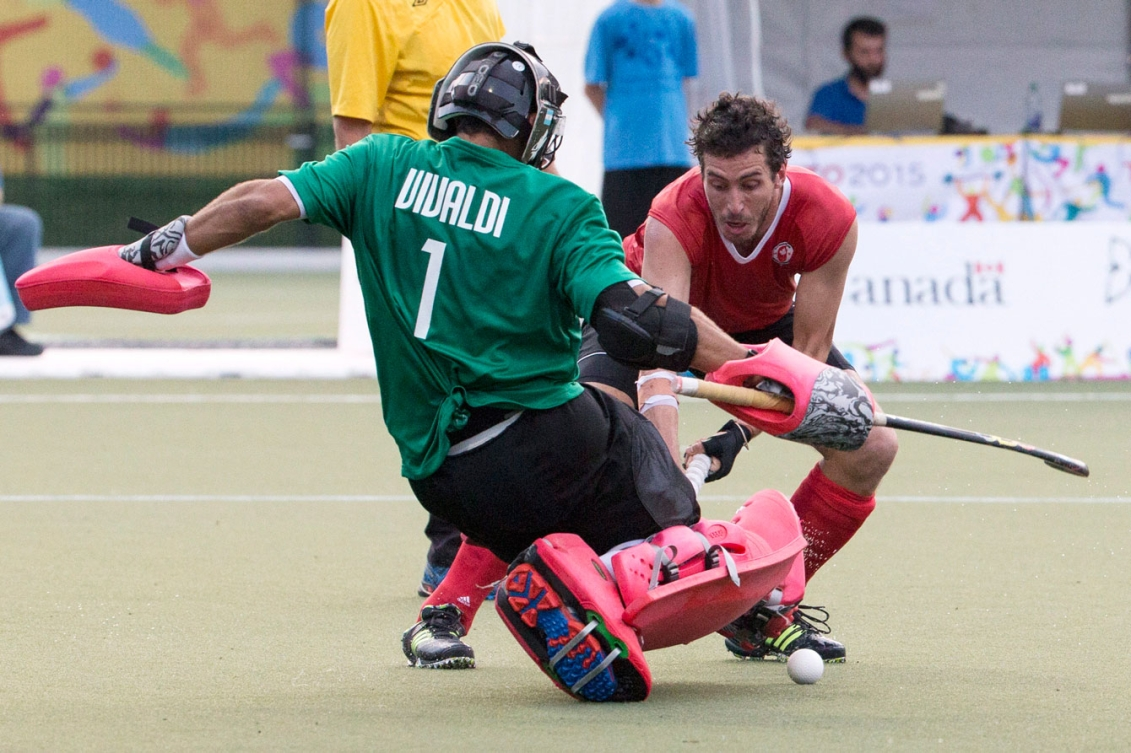 Canada took silver in TO2015 men's field hockey on Day 15.