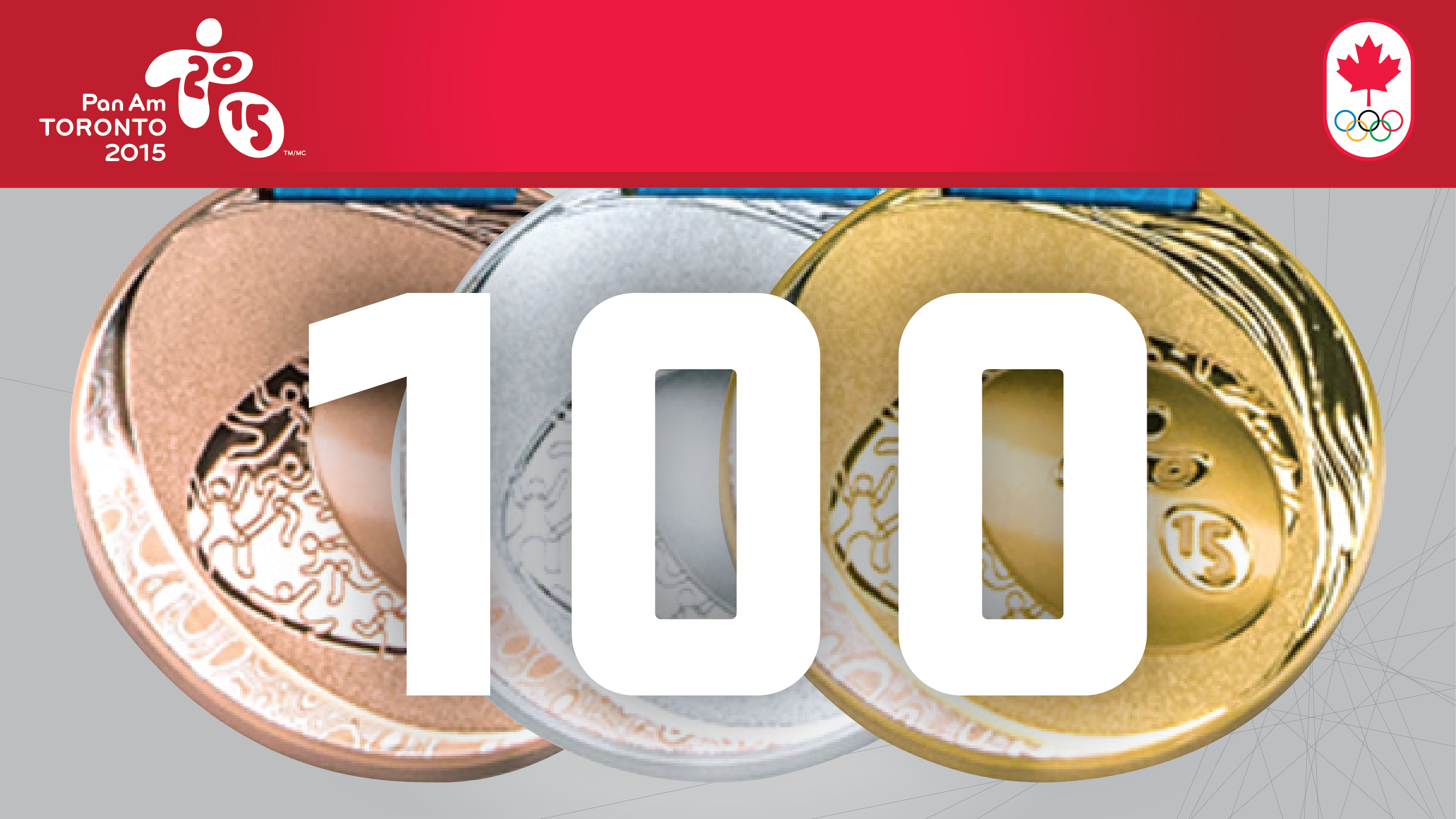 100 Medals - TO2015