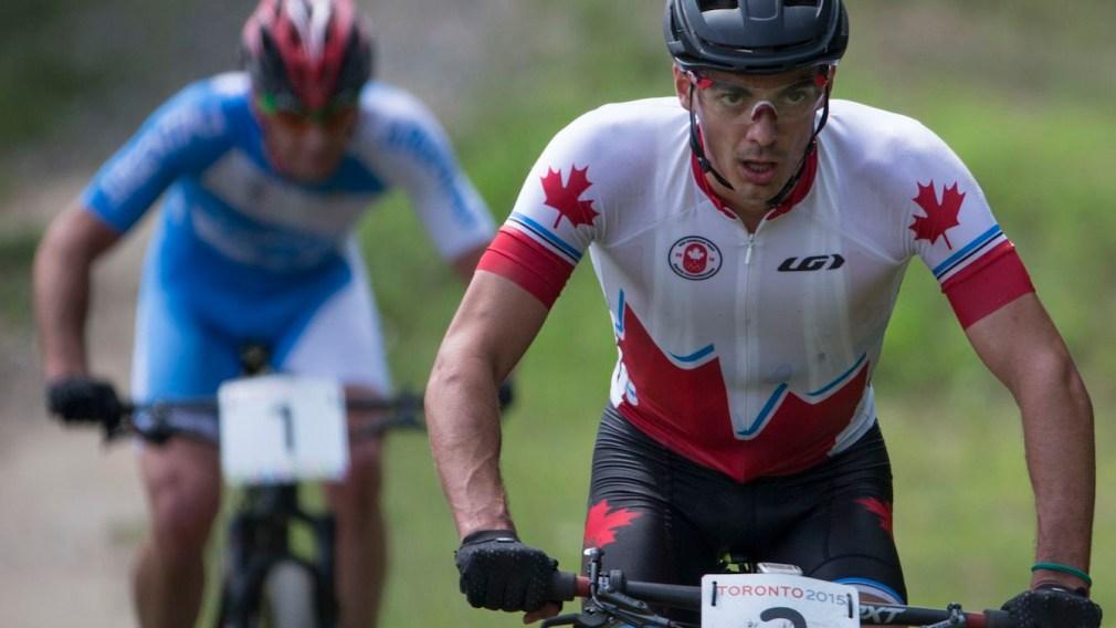 Raphaël Gagné competing