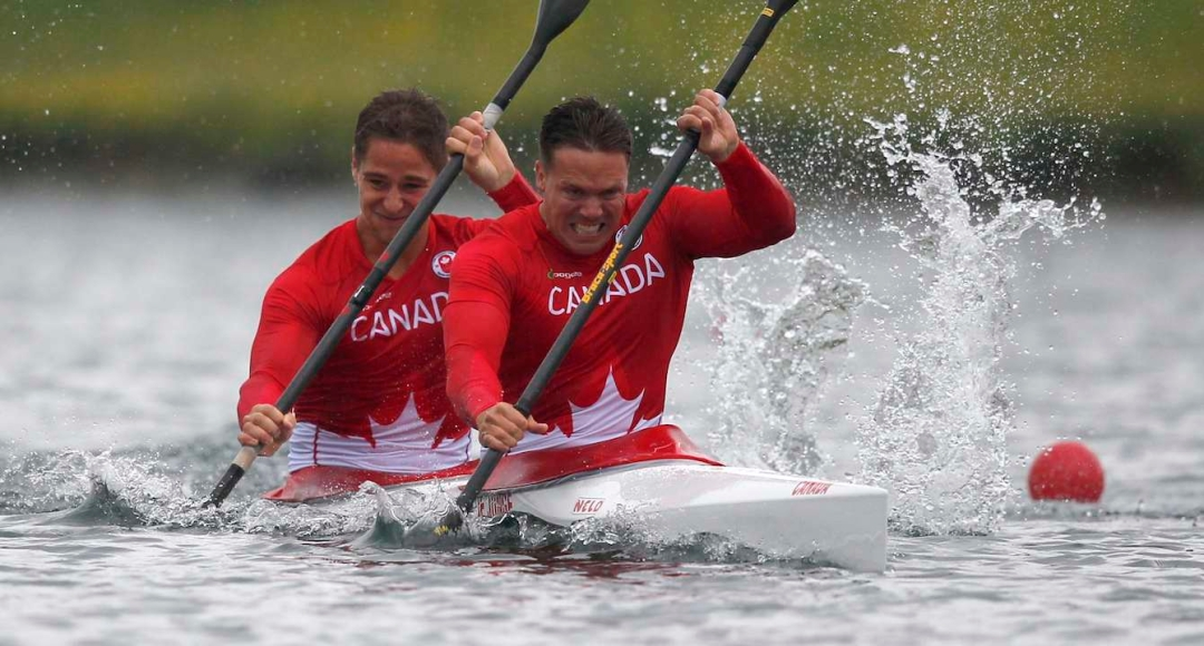 Canada's Mark De Jonge and Pierre-Luc Poulin