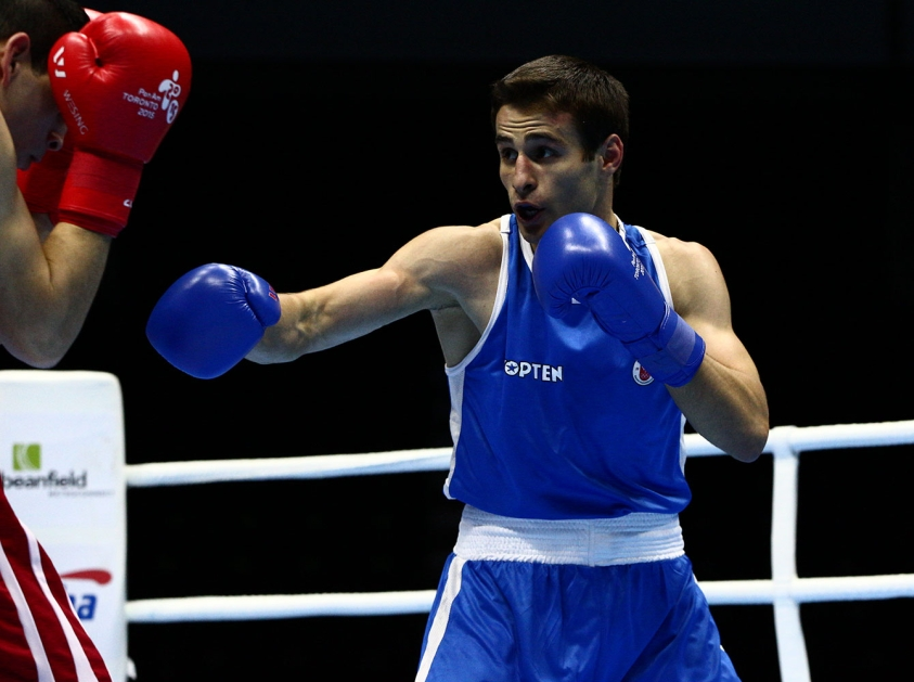 Arthur Biyarslanov earlier in the TO2015 competition.