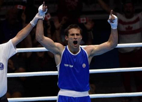 Arthur Biyarslano cheering
