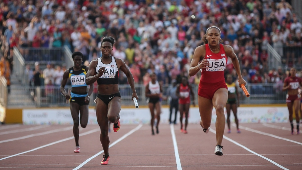 Men disqualified, Canadian women win four medals on last night of TO2015 track