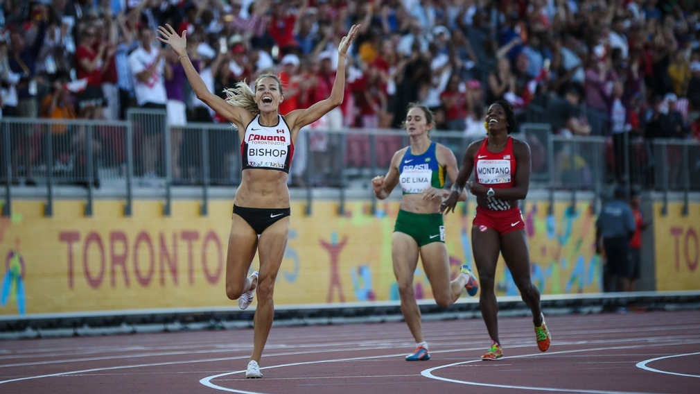 Bishop blasts the home stretch to Pan Am Games gold