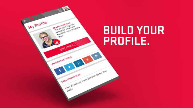 Build your profile copy