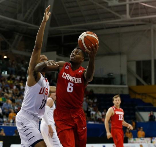 Men's Basketball Semifinal - CAN vs. USA
