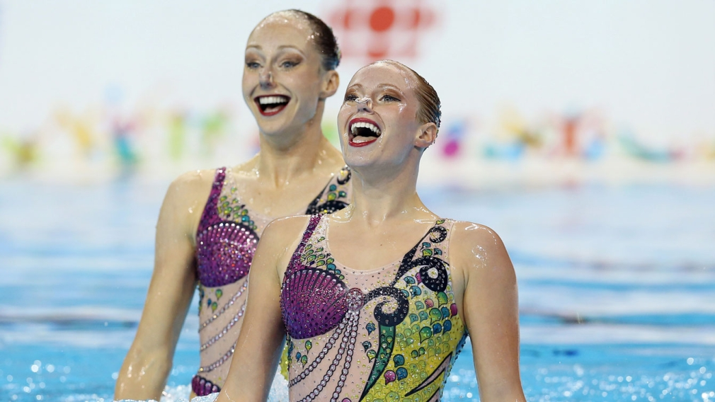 Synchro swimmers open TO2015 with a splash