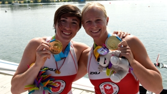Kerry Maher-Shaffer and Antje von Seydlitz