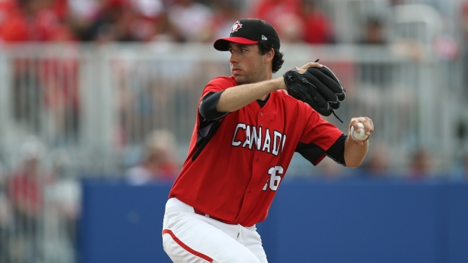 Canada won gold in men's baseball at the 2015 Pan Am Games in Toronto.