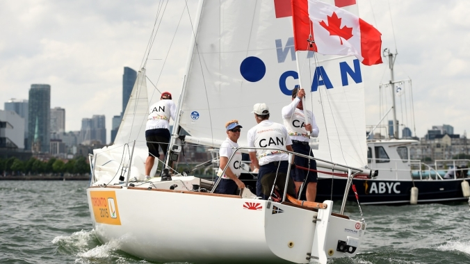 Terry McLaughlin (skipper), Sandy Andrews, David Ogden, and David Jarvis