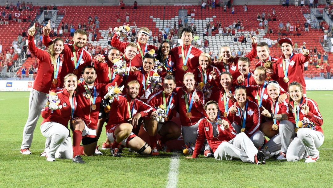 Men's & Women's Rugby Sevens Gold Medalist