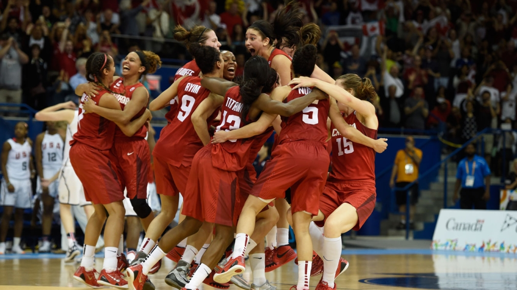 Canada wins historic women's Pan Am basketball gold at TO2015