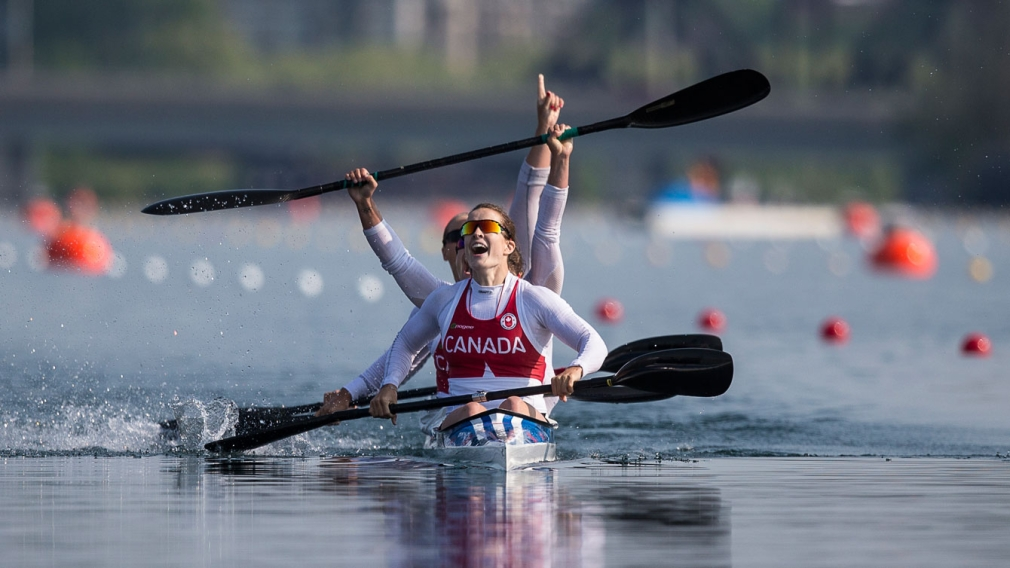 Women's kayak delivers Canada's first gold of TO2015
