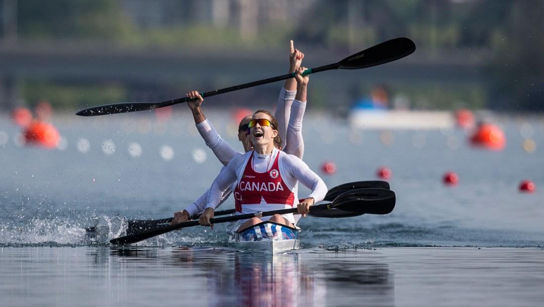 Women's Kayak gold at Toronto 2015