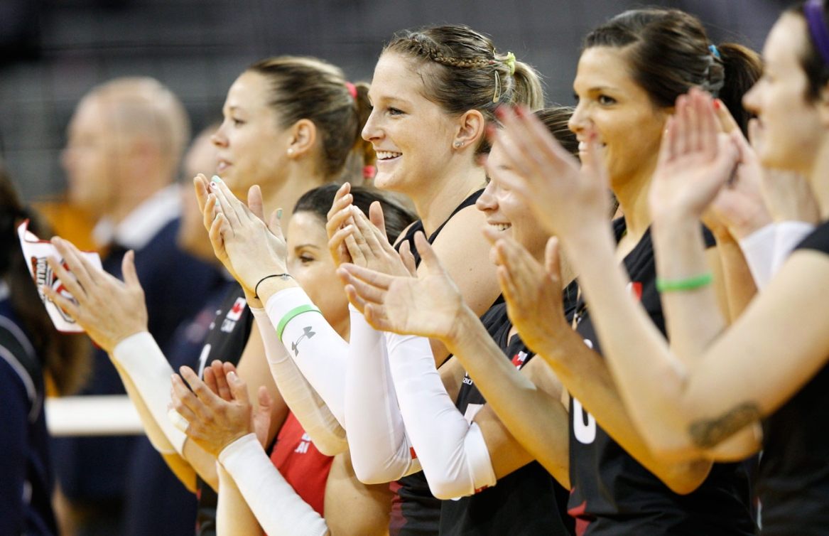 The women's volleyball team played to an 8th place finish at TO2015.