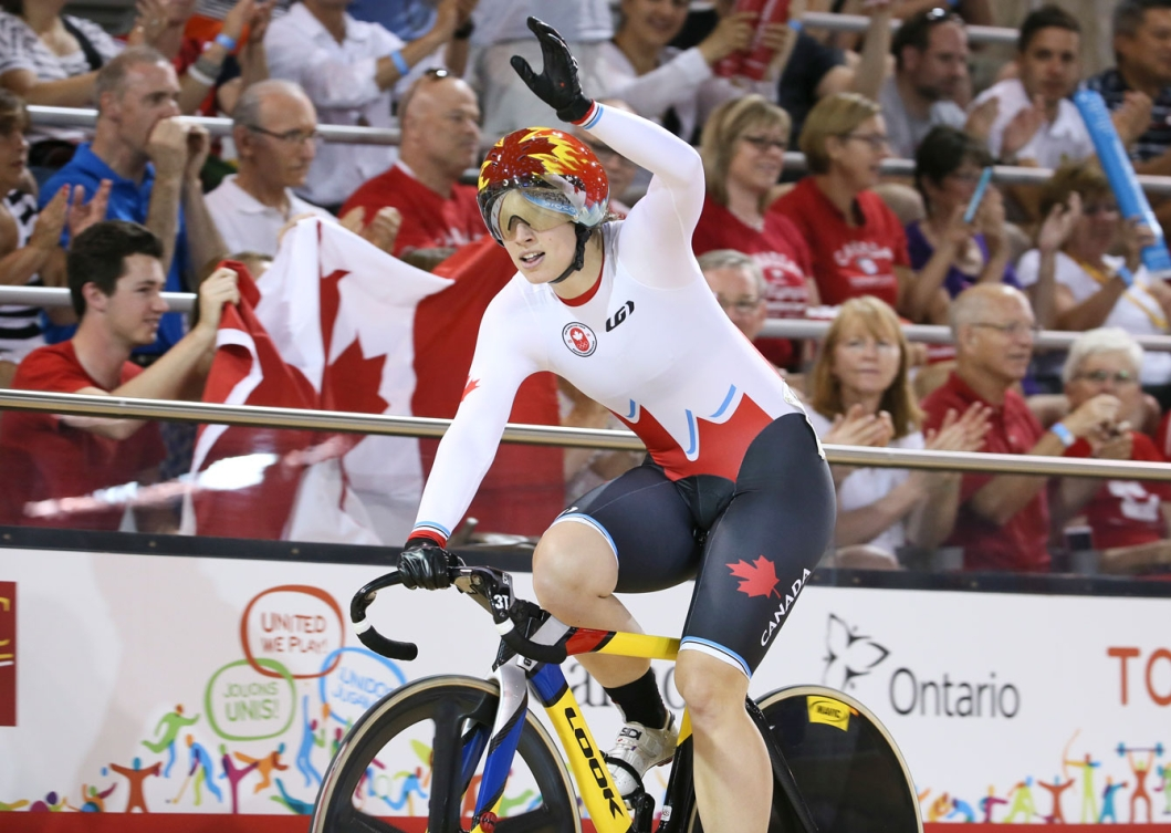 Monique Sullivan won gold and teammate Kate O'Brien took silver in the women's sprint. (Photo: Mike Ridewood)