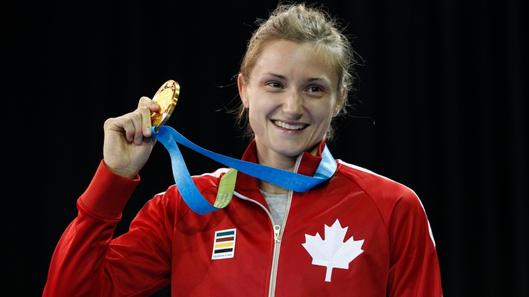 Genevieve Morrison takes gold in 48KG