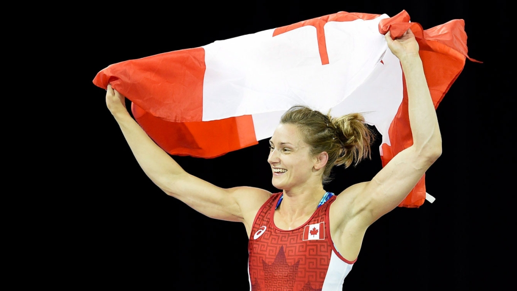 Morrison's gold first Canadian wrestling medal of TO2015
