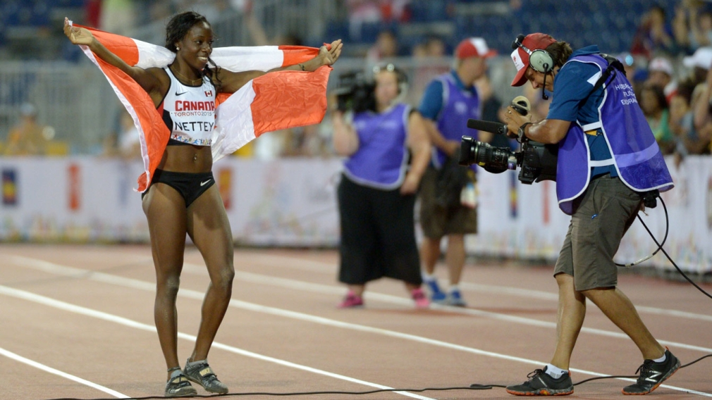 Nettey lands long jump gold for Canada at Pan Am Games