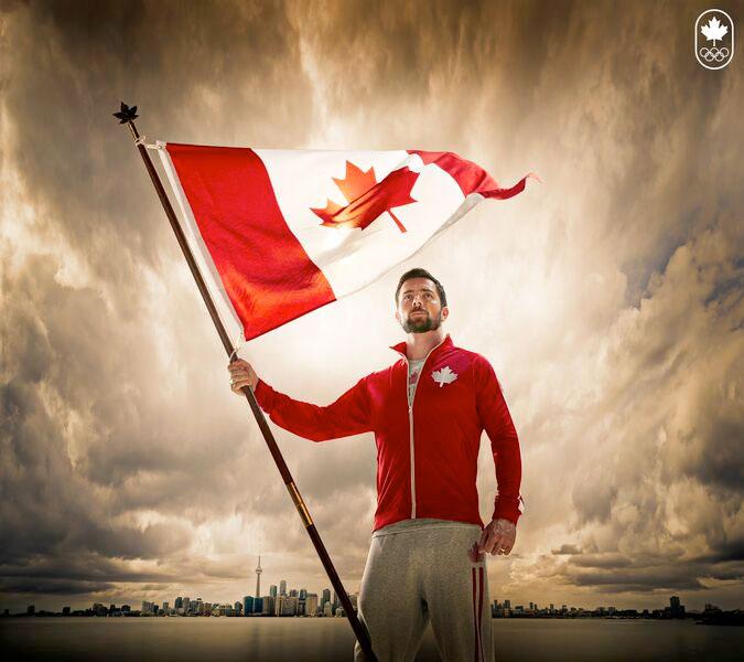 Mark Oldershaw named Team Canada Pan Am Games flag bearer on July 1, 2015.
