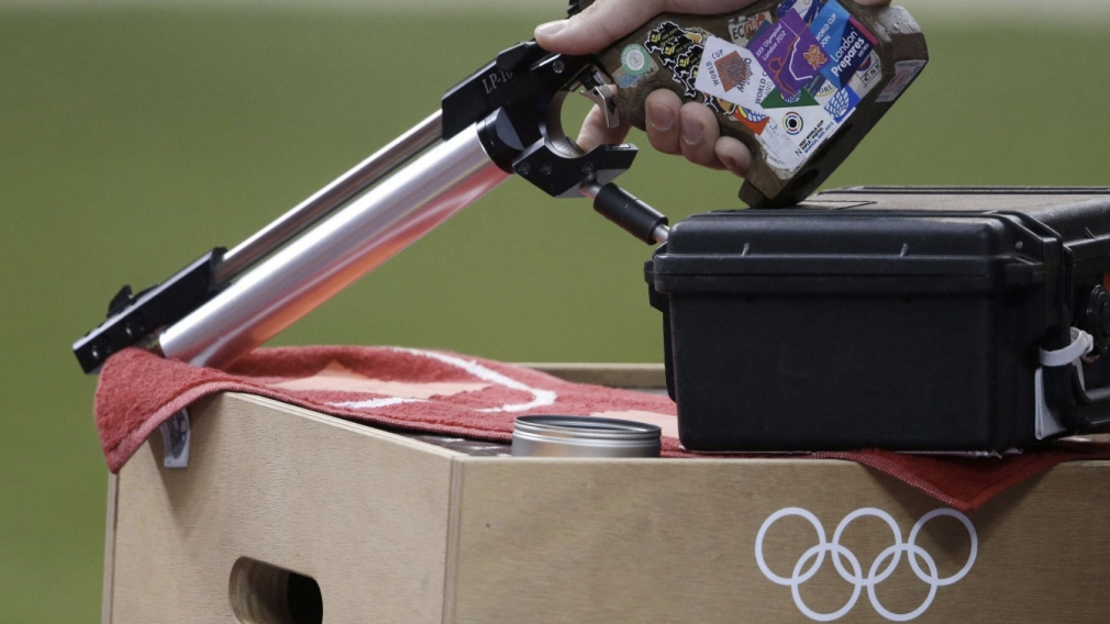 Record score for Kiejko wins Pan Am shooting gold, Olympic spot