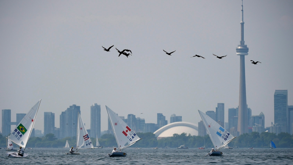 Parkhill wins first Pan Am sailing medal for Canada at TO2015