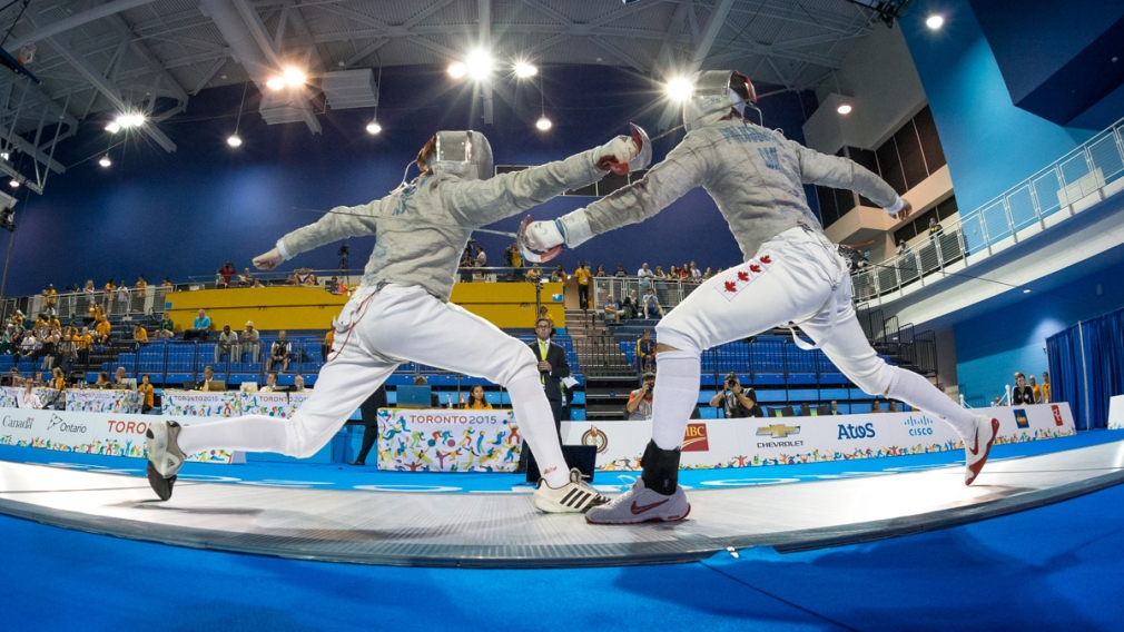 Fencing gets on the board with two Pan Am medals at TO2015