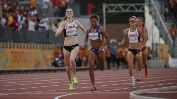 Nicole Sifuentes and Sasha Gollish finish second and third for Canada
