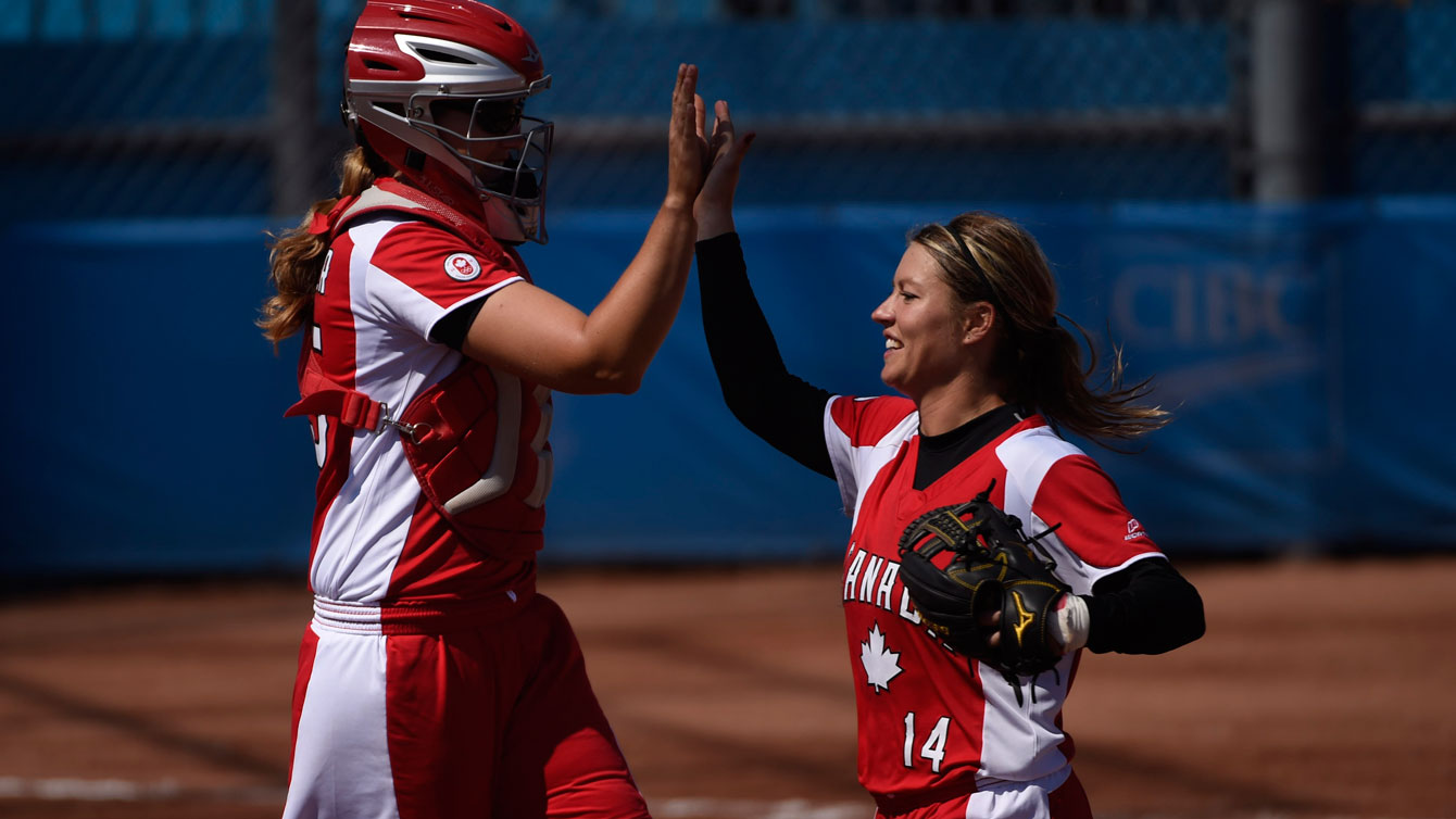 The Canadian women defeated the USA on Day 16 at TO2015 for their second ever Pan Am baseball gold.